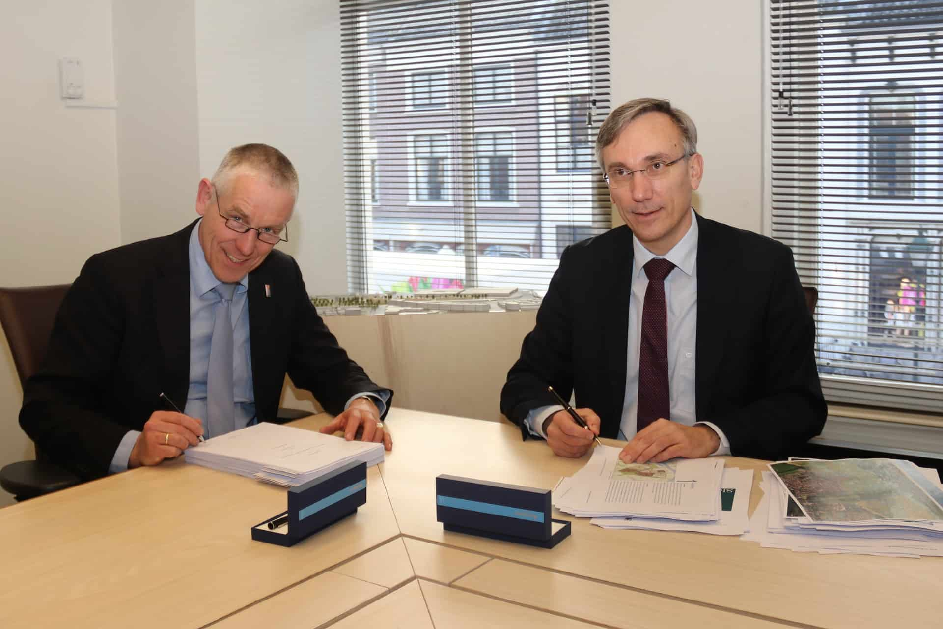 Ondertekening Koop- en Realisatieovereenkomst Sluiseiland Vianen