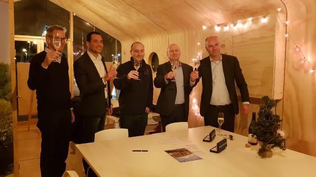 Ondertekening CPO project Sluiseiland