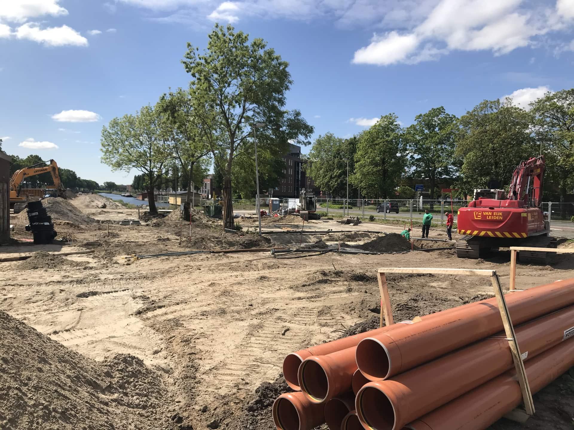 Update vanaf Sluiseiland